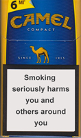 Camel Compact Blue Cigarettes pack