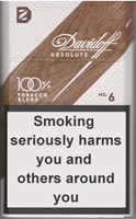 Davidoff Absolute 6 Cigarettes pack