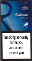 Rothmans Demi Royals Blue Cigarettes pack
