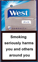 West Compact Plus Duo Cigarettes pack