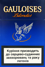 Gauloises Blue (Filter) Cigarettes pack