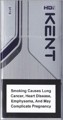 Kent HDi Blue Cigarettes pack