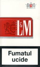 L&M Red (Red Label) Cigarettes pack
