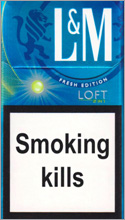 L&M Loft 2 in 1 Cigarettes pack