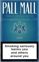 Pall Mall Azure Cigarettes pack