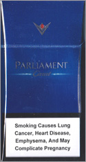 Parliament Carat Blue Cigarettes pack