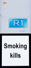 R1 Slims Cigarettes pack
