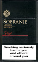 Sobranie Black Cigarettes pack