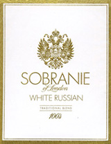 Sobranie White Russian Cigarettes pack