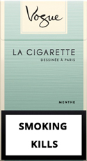 Vogue Super Slims Menthol 100s