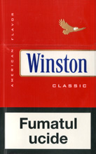 Winston Red (Classic) Cigarettes pack