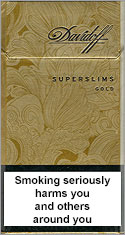 Davidoff Super Slims Gold